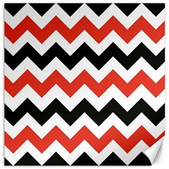 Colored Chevron Printable Canvas 16  X 16