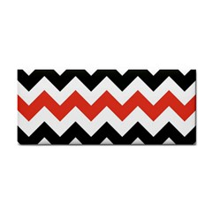 Colored Chevron Printable Cosmetic Storage Cases by AnjaniArt