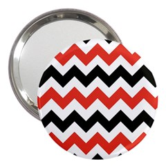 Colored Chevron Printable 3  Handbag Mirrors