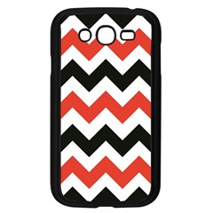 Colored Chevron Printable Samsung Galaxy Grand Duos I9082 Case (black) by AnjaniArt