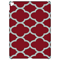 Flower Red Light Blue Apple Ipad Pro 12 9   Hardshell Case