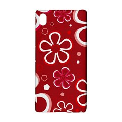 Flower Red Cute Sony Xperia Z3+ by AnjaniArt