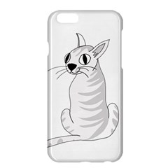 White Cat  Apple Iphone 6 Plus/6s Plus Hardshell Case