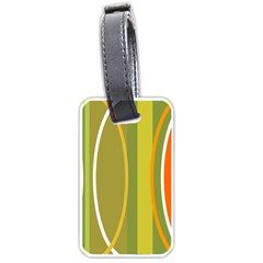 Graphic Elements Large Landscape Luggage Tags (one Side)  by AnjaniArt