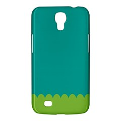 Green Blue Samsung Galaxy Mega 6 3  I9200 Hardshell Case by AnjaniArt