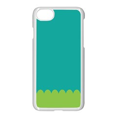 Green Blue Apple Iphone 7 Seamless Case (white)