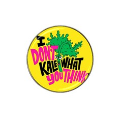Idont Kale Think Hat Clip Ball Marker