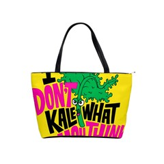 Idont Kale Think Shoulder Handbags by AnjaniArt