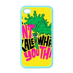 Idont Kale Think Apple Iphone 4 Case (color)