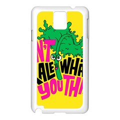 Idont Kale Think Samsung Galaxy Note 3 N9005 Case (white) by AnjaniArt
