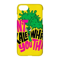 Idont Kale Think Apple Iphone 7 Hardshell Case by AnjaniArt