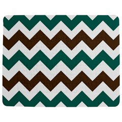 Green Chevron Jigsaw Puzzle Photo Stand (rectangular) by AnjaniArt