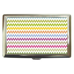 Color Full Chevron Cigarette Money Cases