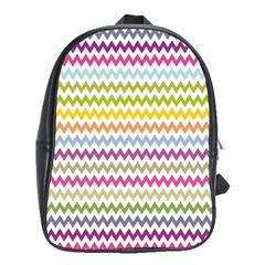 Color Full Chevron School Bags(large)