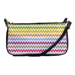 Color Full Chevron Shoulder Clutch Bags by AnjaniArt