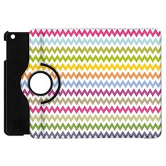 Color Full Chevron Apple Ipad Mini Flip 360 Case by AnjaniArt