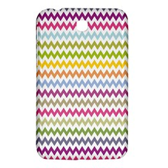 Color Full Chevron Samsung Galaxy Tab 3 (7 ) P3200 Hardshell Case  by AnjaniArt