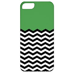 Lime Green Chevron Apple Iphone 5 Classic Hardshell Case