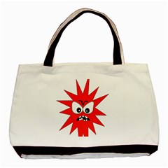 Monster Angry Basic Tote Bag (two Sides)