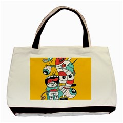 Monster Animals Basic Tote Bag (two Sides)