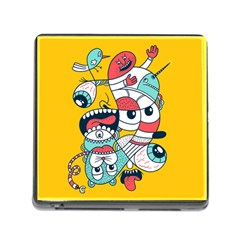 Monster Animals Memory Card Reader (square)