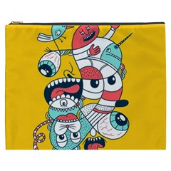 Monster Animals Cosmetic Bag (xxxl)