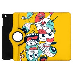 Monster Animals Apple Ipad Mini Flip 360 Case