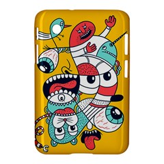 Monster Animals Samsung Galaxy Tab 2 (7 ) P3100 Hardshell Case  by AnjaniArt