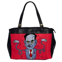 Monster Rubiobot Office Handbags by AnjaniArt