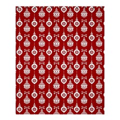 Light Red Lampion Shower Curtain 60  X 72  (medium)  by AnjaniArt
