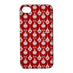 Light Red Lampion Apple Iphone 4/4s Hardshell Case With Stand