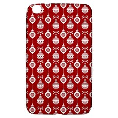 Light Red Lampion Samsung Galaxy Tab 3 (8 ) T3100 Hardshell Case  by AnjaniArt