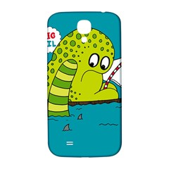 Monster Sea Too Big To Sail Samsung Galaxy S4 I9500/i9505  Hardshell Back Case