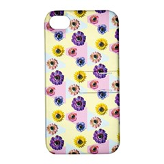 Monster Eye Flower Apple Iphone 4/4s Hardshell Case With Stand by AnjaniArt