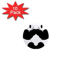 Panda 1  Mini Magnet (10 Pack)