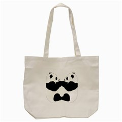 Panda Tote Bag (cream) by AnjaniArt