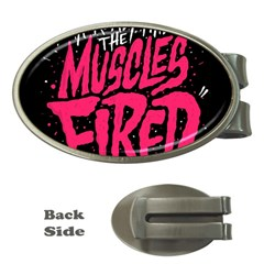 Muscles Fired Money Clips (oval)
