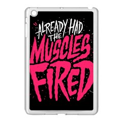 Muscles Fired Apple Ipad Mini Case (white) by AnjaniArt