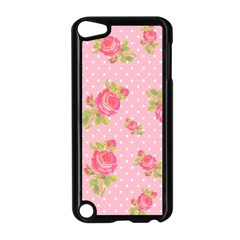 Rose Pink Apple Ipod Touch 5 Case (black)