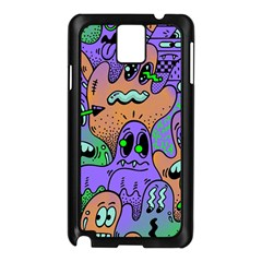 Monster Alien Ghost Samsung Galaxy Note 3 N9005 Case (black)