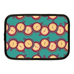 Timing Smart Time Netbook Case (medium)  by AnjaniArt