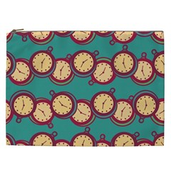 Timing Smart Time Cosmetic Bag (xxl)  by AnjaniArt