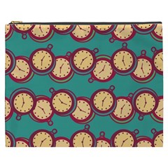 Timing Smart Time Cosmetic Bag (xxxl)  by AnjaniArt