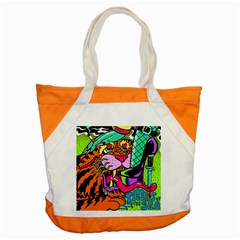 Tiger Lion Accent Tote Bag