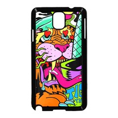 Tiger Lion Samsung Galaxy Note 3 Neo Hardshell Case (black)