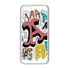 Teks As Apple Iphone 5c Seamless Case (white) by AnjaniArt