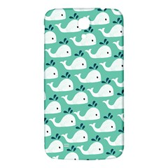 Whale Sea Blue Samsung Galaxy Mega I9200 Hardshell Back Case