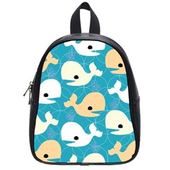 Whole Sea Animals School Bags (small)  by AnjaniArt