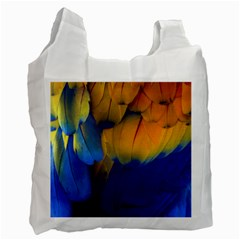 Parrots Feathers Recycle Bag (two Side)