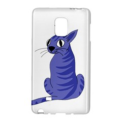 Blue Cat Galaxy Note Edge by Valentinaart
